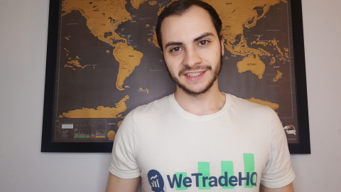 Jake Amaral Founder of WeTradeHQ